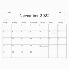 Showcase 2018 (any Year) Calendar By Deborah   Wall Calendar 11  X 8 5  (12 Months)   R7x3ttxefki4   Www Artscow Com Nov 2018