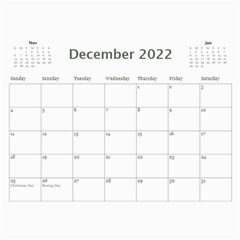 Showcase 2018 (any Year) Calendar By Deborah   Wall Calendar 11  X 8 5  (12 Months)   R7x3ttxefki4   Www Artscow Com Dec 2018