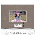 Calendar: All Gray - Wall Calendar 11  x 8.5  (12-Months)