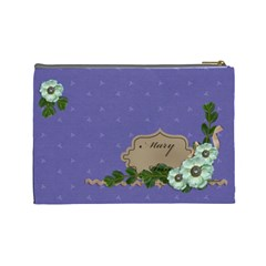Cosmetic Bag (large)   Purple Sweet Dreams By Jennyl   Cosmetic Bag (large)   L0edmvyh684o   Www Artscow Com Back