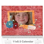 Family/Together- Photo Calendar (12 months) - Wall Calendar 11  x 8.5  (12-Months)