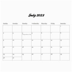 Family/together  Photo Calendar (12 Months) By Mikki   Wall Calendar 11  X 8 5  (12 Months)   6bi74vl9zr9f   Www Artscow Com Jul 2012