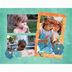 Family/together  Photo Calendar (12 Months) By Mikki   Wall Calendar 11  X 8 5  (12 Months)   6bi74vl9zr9f   Www Artscow Com Month