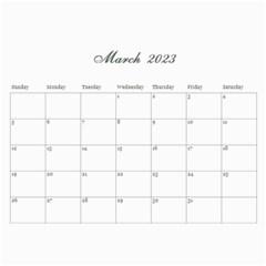 Shabby Chic/flowers/mother Photo 2015 Calendar (12 Months) By Mikki   Wall Calendar 11  X 8 5  (12 Months)   Itmuq6y67y1i   Www Artscow Com Mar 2015
