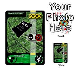 Zaibatsu Colour Action/mix By Donald Macdonald   Multi Purpose Cards (rectangle)   Rkzht5u0xxjl   Www Artscow Com Front 27