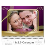 Memories 2018 (any Year) Calendar 8.5x6 - Wall Calendar 11  x 8.5  (12-Months)