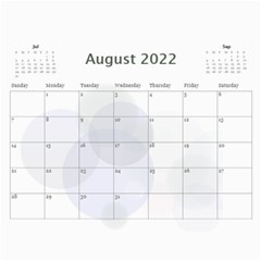 Bubbles 2017 (any Year) Calendar By Deborah   Wall Calendar 11  X 8 5  (12 Months)   Whi9g28gdggs   Www Artscow Com Aug 2017