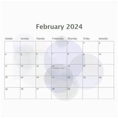 Bubbles 2017 (any Year) Calendar By Deborah   Wall Calendar 11  X 8 5  (12 Months)   Whi9g28gdggs   Www Artscow Com Feb 2017