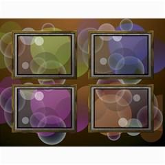 Bubbles 2018 (any Year) Calendar By Deborah   Wall Calendar 11  X 8 5  (12 Months)   Whi9g28gdggs   Www Artscow Com Month