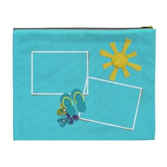 Cosmetic Bag (xl)  At The Beach By Jennyl   Cosmetic Bag (xl)   Okqczd9es1x6   Www Artscow Com Back