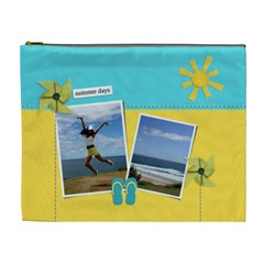 Cosmetic Bag (xl)  Summer Days By Jennyl   Cosmetic Bag (xl)   R2awe8s1vosg   Www Artscow Com Front