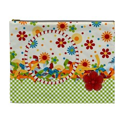 Celebrate May Xl Cosmetic Bag 1 By Lisa Minor   Cosmetic Bag (xl)   4i7w75491ll6   Www Artscow Com Front