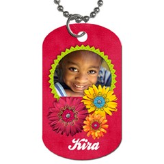 Girl 3 Dog Tag (2 Sides) By Mikki   Dog Tag (two Sides)   Xktuyuk0yxgv   Www Artscow Com Back