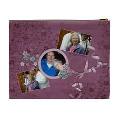 Grandma Large Bag By Tammy Baker   Cosmetic Bag (xl)   Jj913le3qix9   Www Artscow Com Back