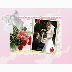Our Wedding Or Anniversary 2018 (any Year) Calendar By Deborah   Wall Calendar 11  X 8 5  (12 Months)   Fbyf19qko64u   Www Artscow Com Month