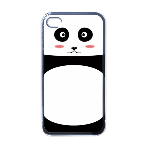 Panda By Clince   Apple Iphone 4 Case (black)   Eytc3e9hc5ax   Www Artscow Com Front