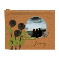 Cosmetic Bag (xl)  My Flower Garden2 By Jennyl   Cosmetic Bag (xl)   Pylguj3te9cd   Www Artscow Com Front