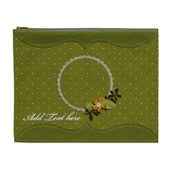 Cosmetic Bag (xl)  Unending Love By Jennyl   Cosmetic Bag (xl)   Dpulfs770imc   Www Artscow Com Front