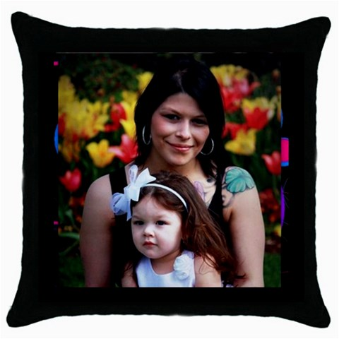 Pillocase By Krystal M    Throw Pillow Case (black)   F2zihxeoorxo   Www Artscow Com Front