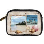 Sea Shells Digital Leather Camera Case - Digital Camera Leather Case