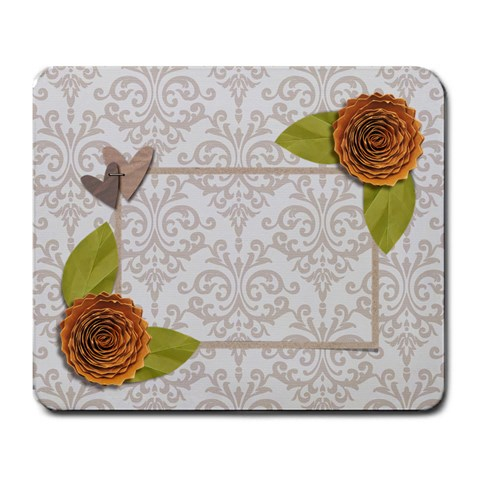 Mousepad  Love Grows4 By Jennyl   Large Mousepad   Pc72hbkp40n4   Www Artscow Com Front
