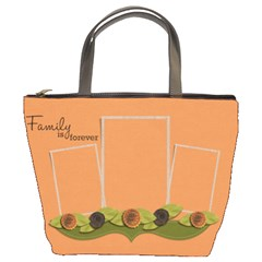 Bucket Bag  Family Is Forever By Jennyl   Bucket Bag   I5i5pa4nb1fp   Www Artscow Com Front