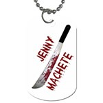 Machete - Dog Tag (Two Sides)