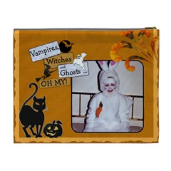Halloween Xl Cosmetic Bag By Lil    Cosmetic Bag (xl)   Vjim7kqoum90   Www Artscow Com Back