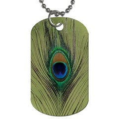 Peacock Purse Pull By Heather    Dog Tag (two Sides)   2gqjdcs9rtb2   Www Artscow Com Front