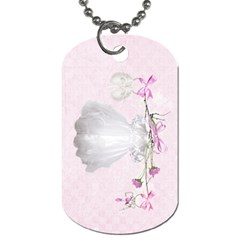 Precious Girl Diaper Bag Tag By Heather    Dog Tag (two Sides)   Hlo2pk179169   Www Artscow Com Front