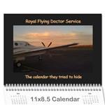 rfds calender - Wall Calendar 11  x 8.5  (12-Months)