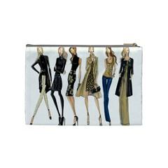 Etc Holiday 2011 3 By Lori Cronican   Cosmetic Bag (medium)   Dmk77hg3p4wi   Www Artscow Com Back