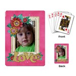 Love-Family-playing cards (single) - Playing Cards Single Design