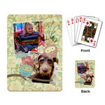 Owls-Fly Away-playing cards (single) - Playing Cards Single Design