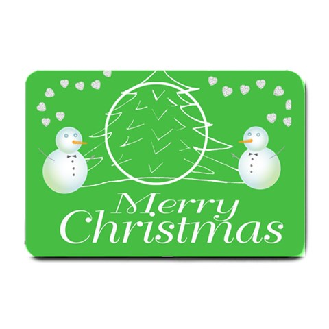 Christmas Mat By Kim Blair   Small Doormat   Oxpmi7b5pc6o   Www Artscow Com 24 x16 Door Mat - 1