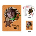 Born to be Wild/Monkey-Playing cards (single design) - Playing Cards Single Design