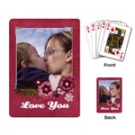 Love/Pink/girl-Playing cards (single design) - Playing Cards Single Design
