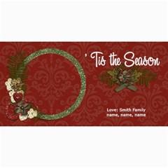 4x8 Photo Card:  tis The Season By Jennyl   4  X 8  Photo Cards   Cn2rwwlz35w7   Www Artscow Com 8 x4 Photo Card - 2