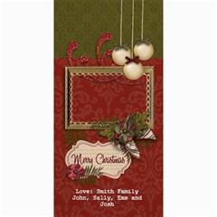 4x8 Photocard: (v) Merry Christmas By Jennyl   4  X 8  Photo Cards   Zvxbw2a53o8m   Www Artscow Com 8 x4 Photo Card - 3
