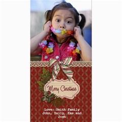 4x8 Photocard: (v) Merry Christmas2 By Jennyl   4  X 8  Photo Cards   Nqzqiwl36hae   Www Artscow Com 8 x4 Photo Card - 6