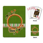 Playing Cards: Be You - Playing Cards Single Design