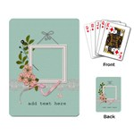 Playing Cards: Flowers for You - Playing Cards Single Design