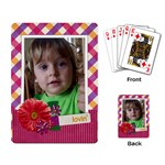 Picnic/Daisy/love-Playing cards (single design) - Playing Cards Single Design