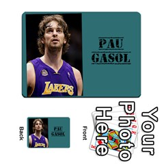 Who Would Win Casero By Neftali Blanco   Multi Purpose Cards (rectangle)   T53kapxdyr8b   Www Artscow Com Front 9