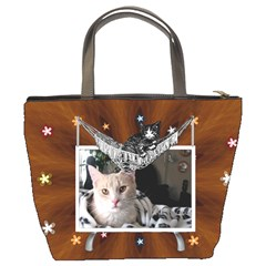 My Cat Bucket Bag By Lil    Bucket Bag   Hsal5mmtglj6   Www Artscow Com Back