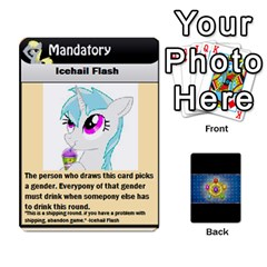 Pony Drinking Deck 3 By Gonzo Anon   Playing Cards 54 Designs   P5ldxxe1uuh8   Www Artscow Com Front - Heart6