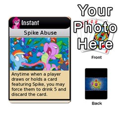 Pony Drinking Deck 3 By Gonzo Anon   Playing Cards 54 Designs   P5ldxxe1uuh8   Www Artscow Com Front - Diamond4