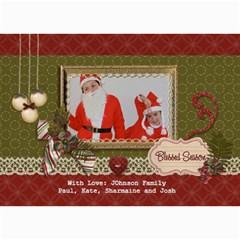 5x7 Photo Card: Blessed Season By Jennyl   5  X 7  Photo Cards   05gczjeo9jvy   Www Artscow Com 7 x5 Photo Card - 8