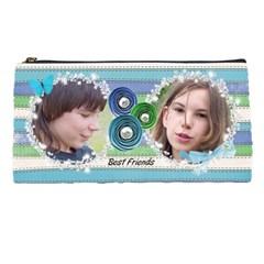 Best Friends Pencil Case By Laurrie   Pencil Case   23z9ci8ibx30   Www Artscow Com Front