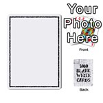 1000 Blank White Cards - Playing Cards 54 Designs